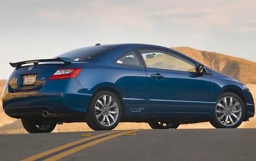 2010 Honda Civic Si Coupe exterior #5