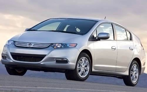 2011 Honda Insight EX Rea interior #1