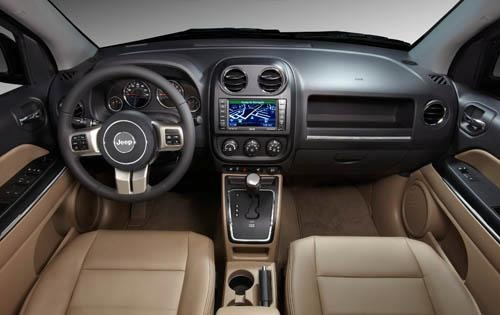 2011 Jeep Compass Limited interior #9