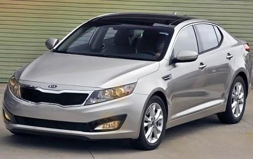 2011 Kia Optima EX Sedan exterior #5