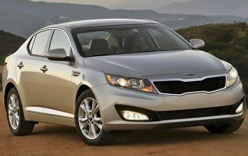 2011 Kia Optima EX Sedan exterior #4