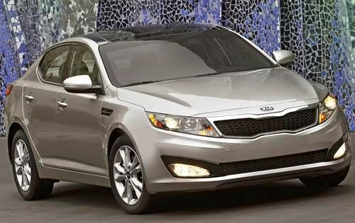 2011 Kia Optima EX Sedan exterior #1