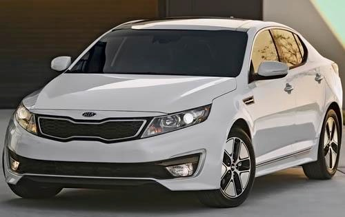 2011 Kia Optima EX Sedan exterior #3