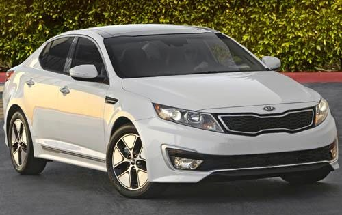 2011 Kia Optima EX Sedan exterior #2