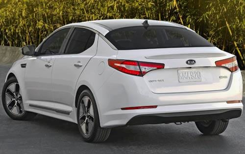 2011 Kia Optima EX Sedan exterior #7