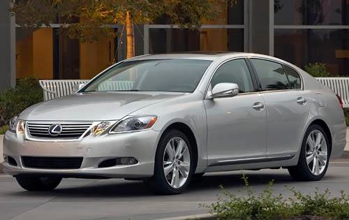 2011 Lexus GS 450h Sedan exterior #2
