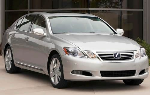 2011 Lexus GS 450h Sedan exterior #1