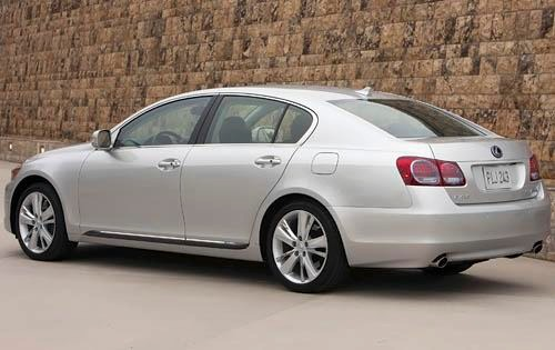 2011 Lexus GS 450h Sedan exterior #4
