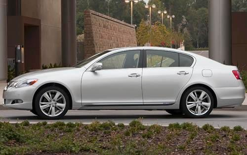 2011 Lexus GS 450h Sedan exterior #3