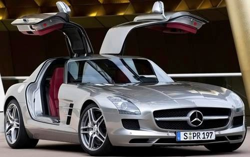 2011 Mercedes-Benz SLS AM interior #1