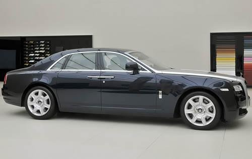 2011 Rolls-Royce Ghost Re interior #4