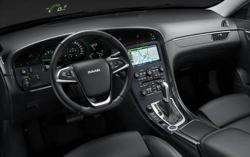 2011 Saab 9-5 Aero Center interior #8