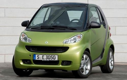 2011 smart fortwo passion exterior #2