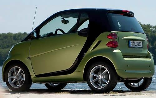 2011 smart fortwo passion exterior #9
