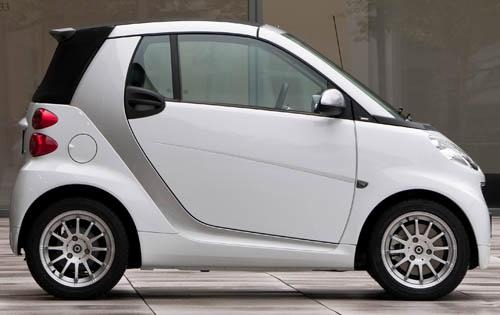 2011 smart fortwo passion exterior #4
