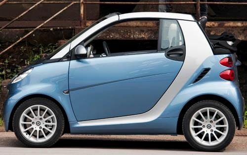 2011 smart fortwo passion exterior #5