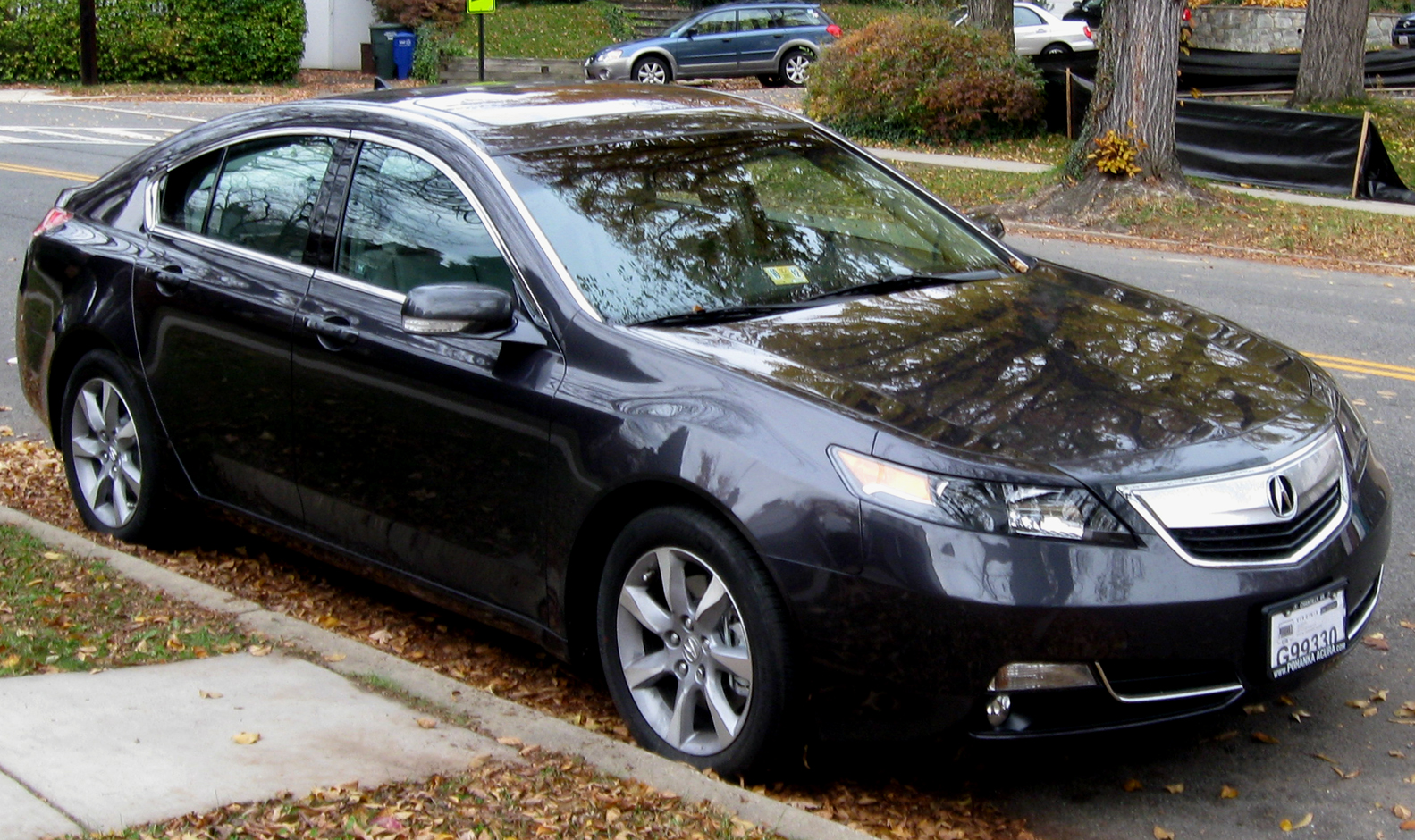 acura news facelift debuts in chicago tl