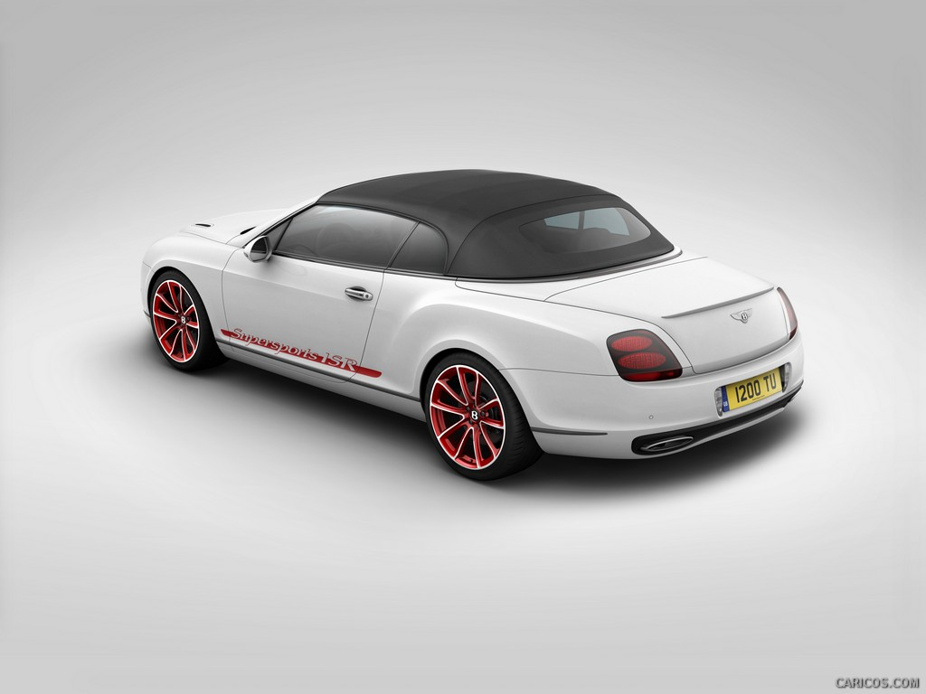 Bentley Continental Supersports Convertible #13
