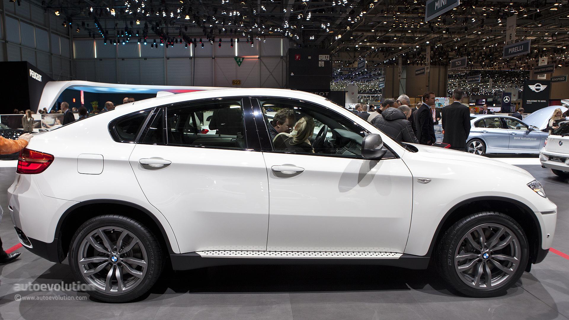 2012 bmw x6 m 50d exteriorinterior walkaround 2012 paris auto show