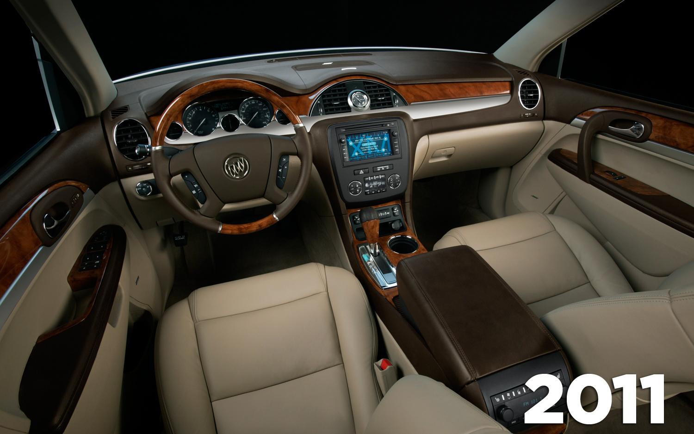 Buick enclave 2008 interior
