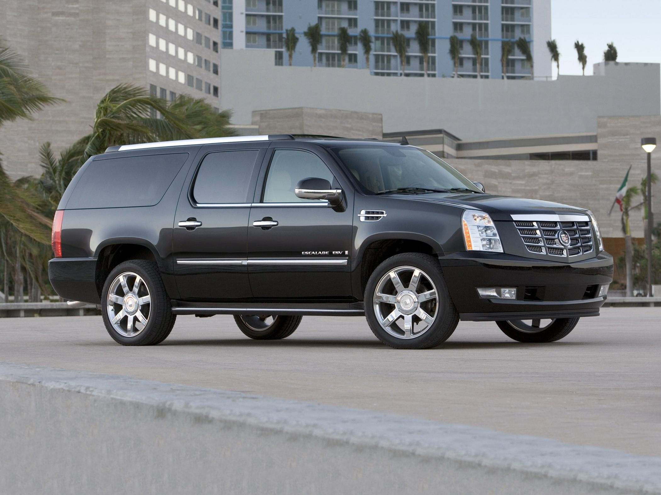 2012 cadillac escalade esv image 5. Black Bedroom Furniture Sets. Home Design Ideas