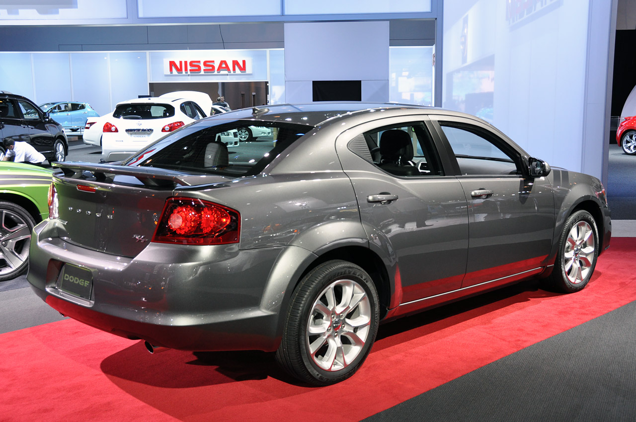2012 dodge avenger - information and photos - zombiedrive