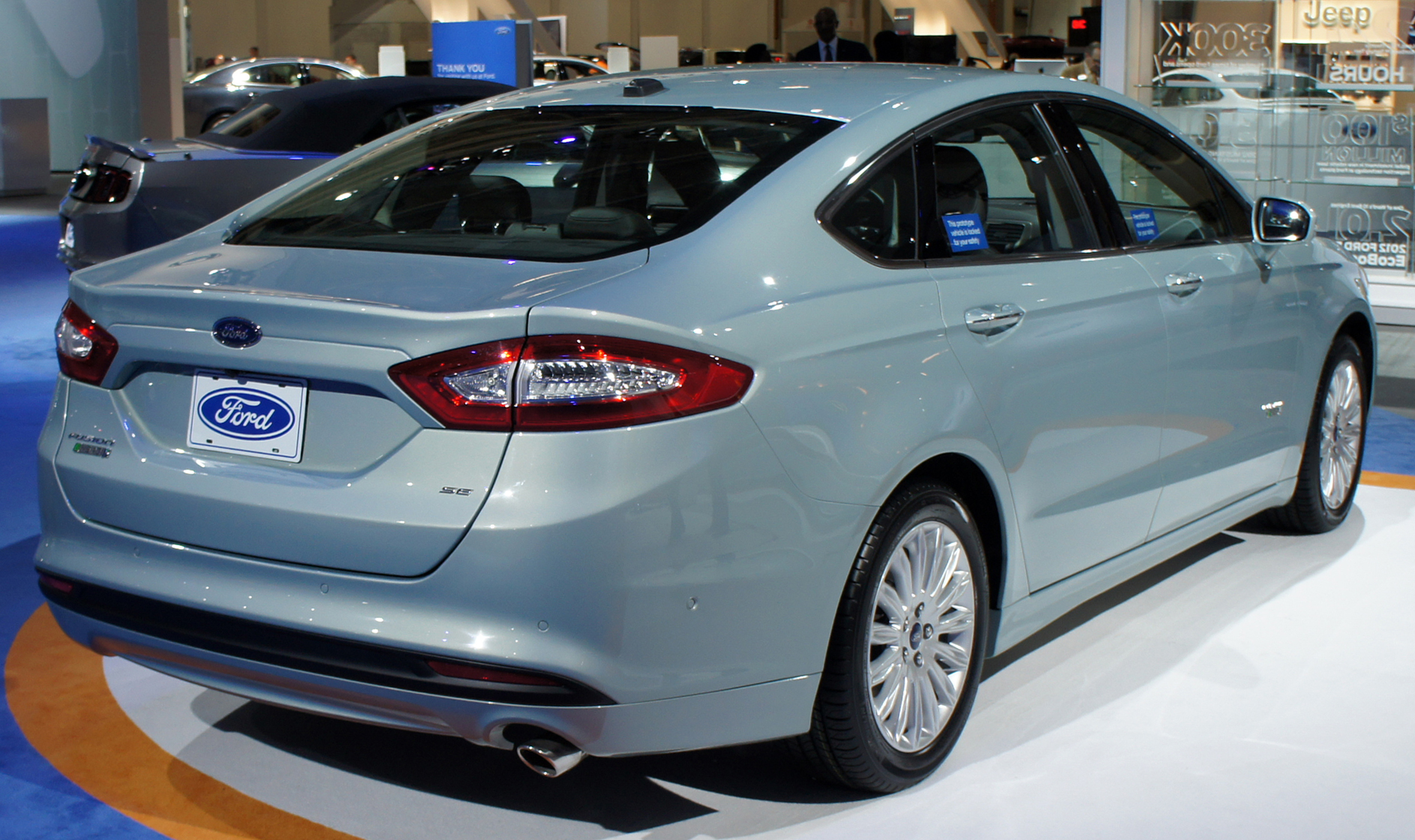 2012 Ford Fusion #12 Ford Fusion #12
