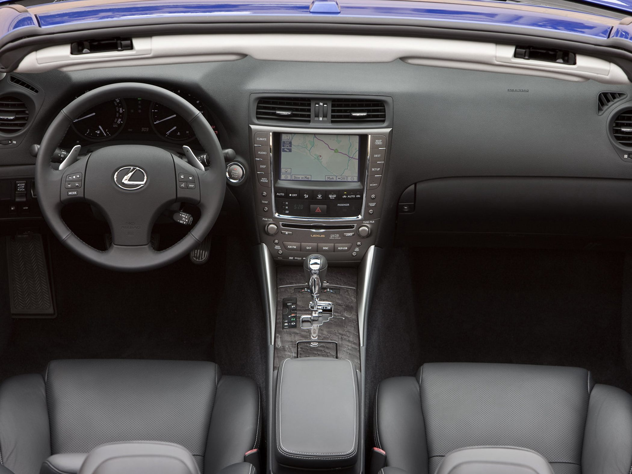2012 lexus is 350 c - information and photos - zombiedrive