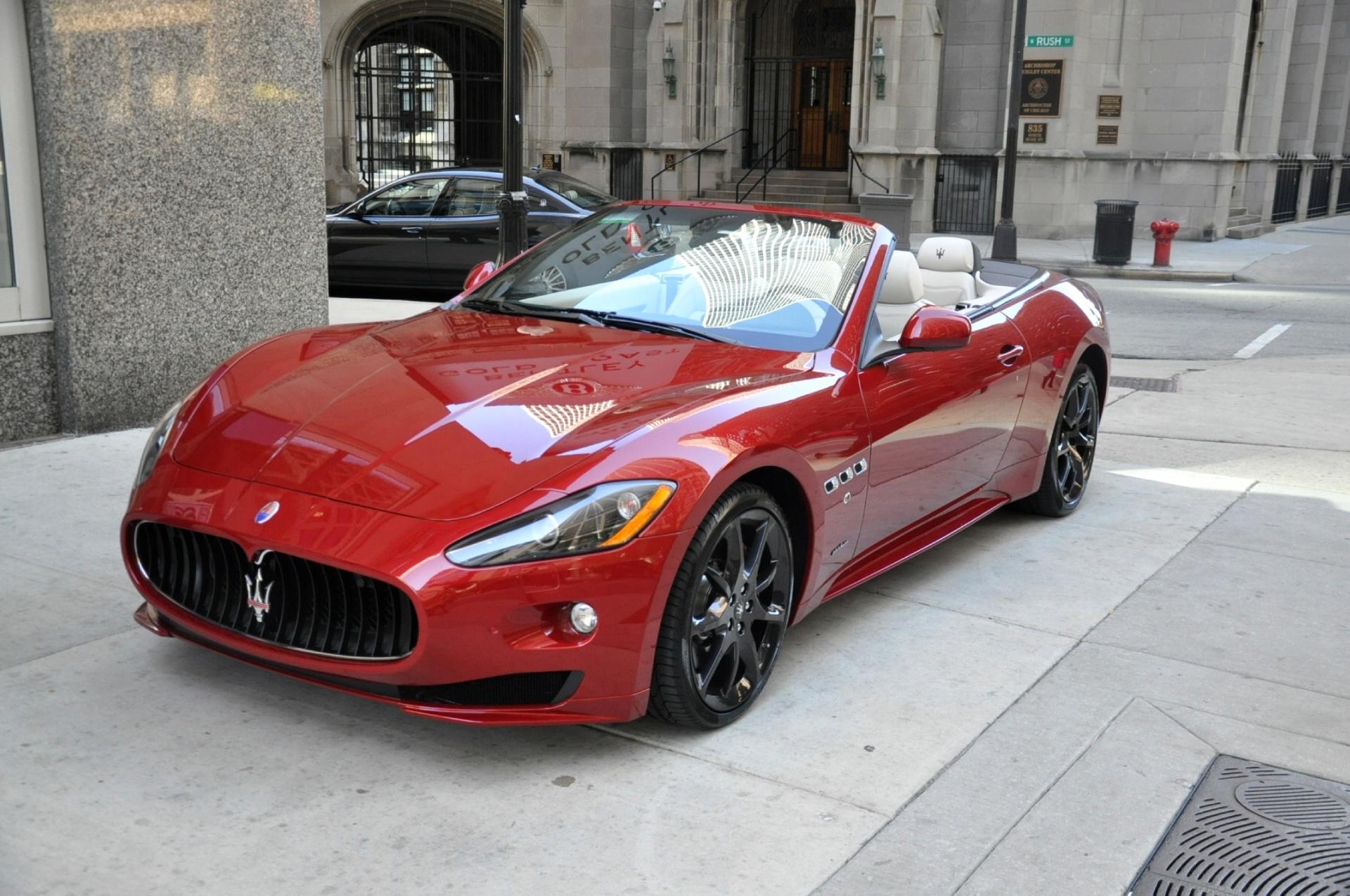 Image result for Maserati GranTurismo Convertible Sport