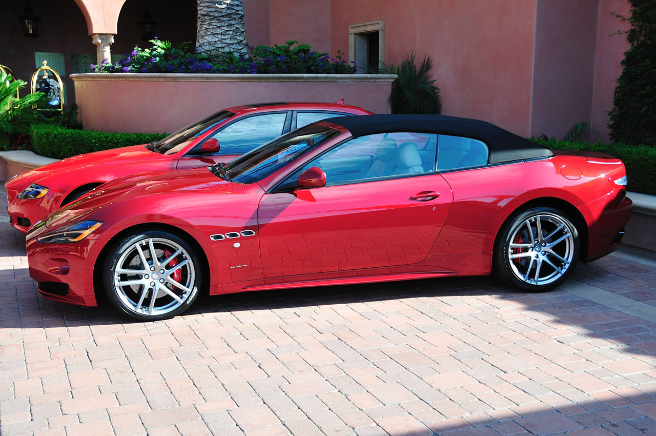 2012 Maserati Granturismo Convertible Image 12