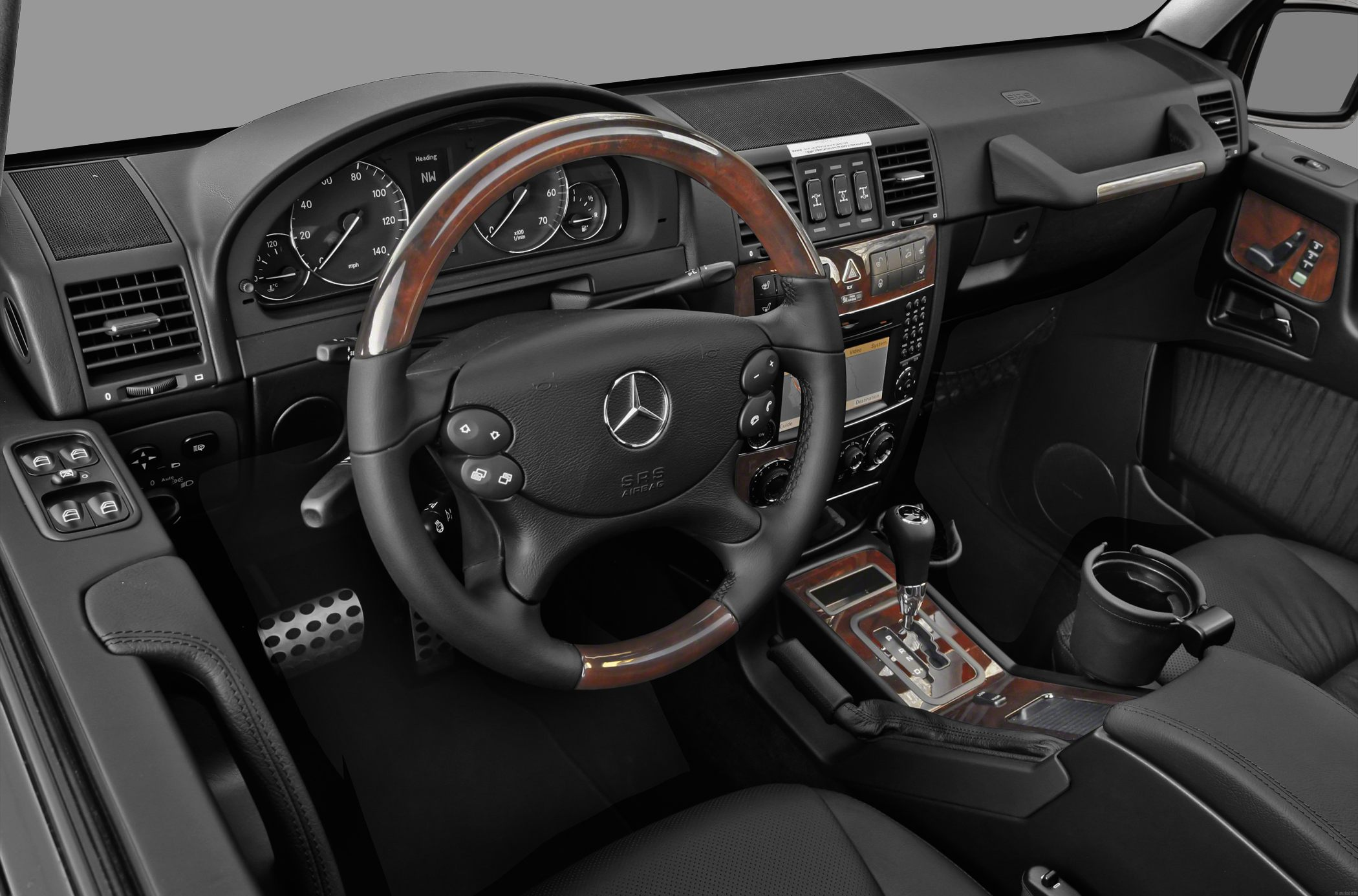 mercedes benz g class 14 - G Wagon Interior