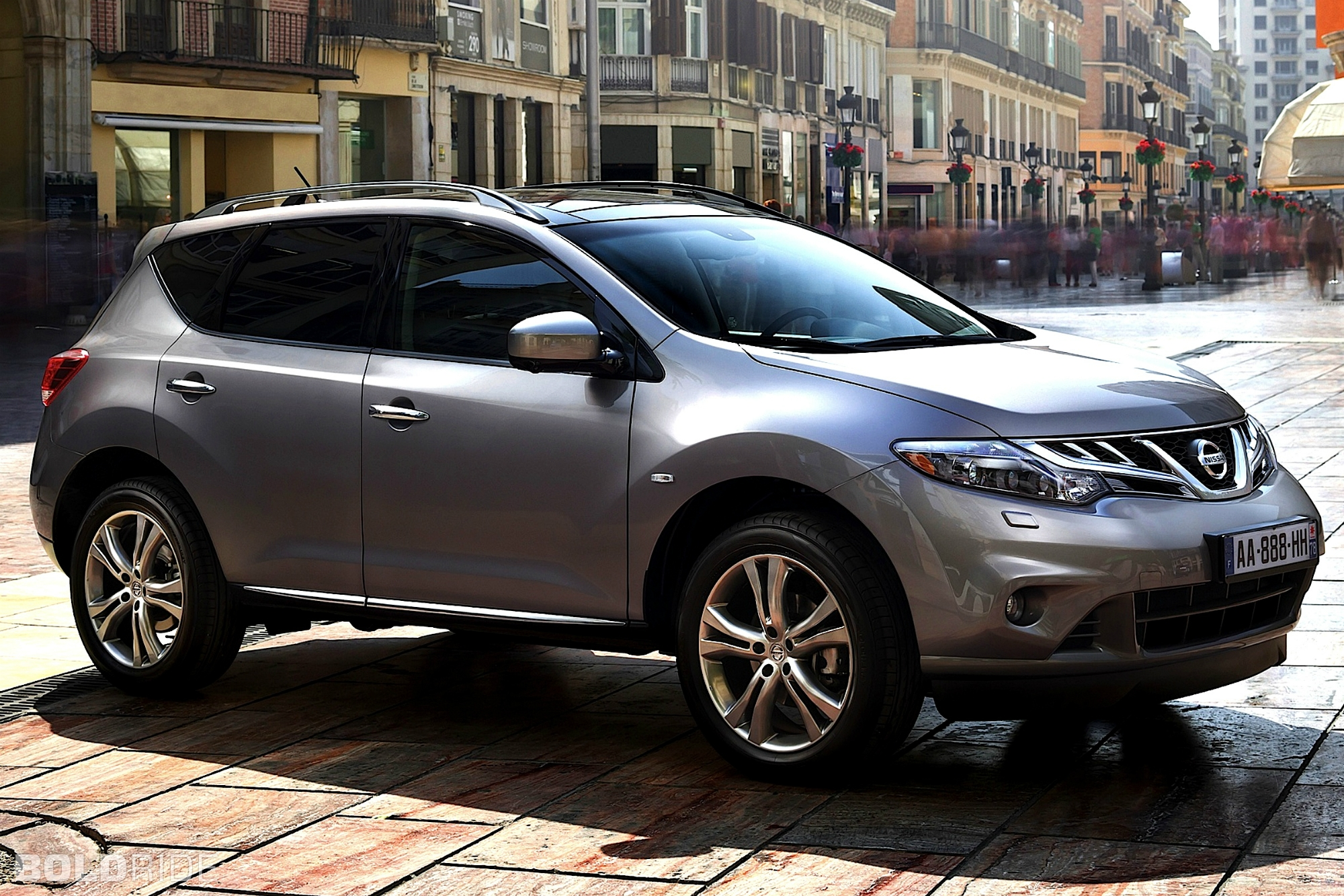 2012 nissan murano information and photos zombiedrive. Black Bedroom Furniture Sets. Home Design Ideas