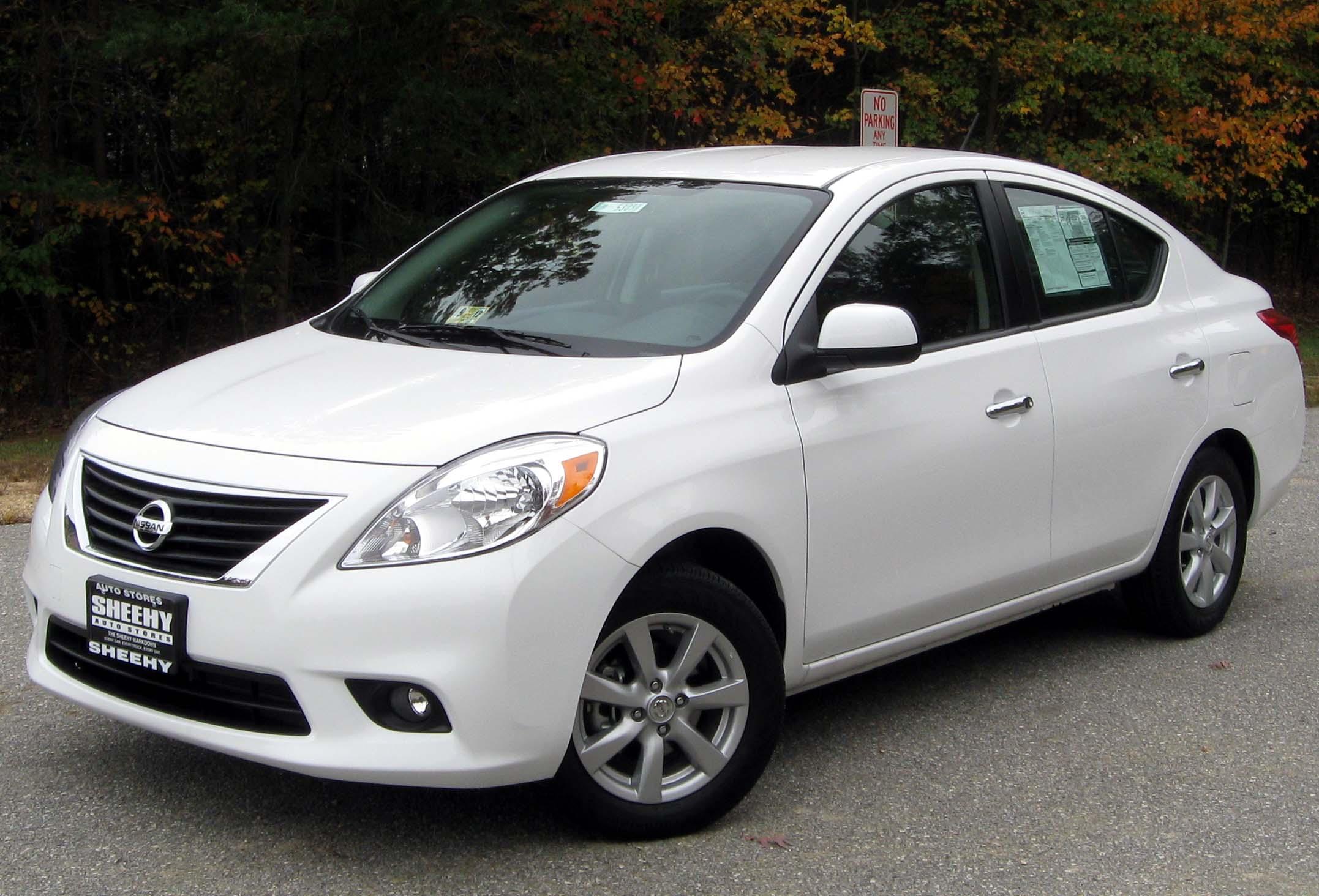 Nissan versa 2012 white image gallery hcpr 2012 nissan versa 1 nissan versa 1 vanachro Images
