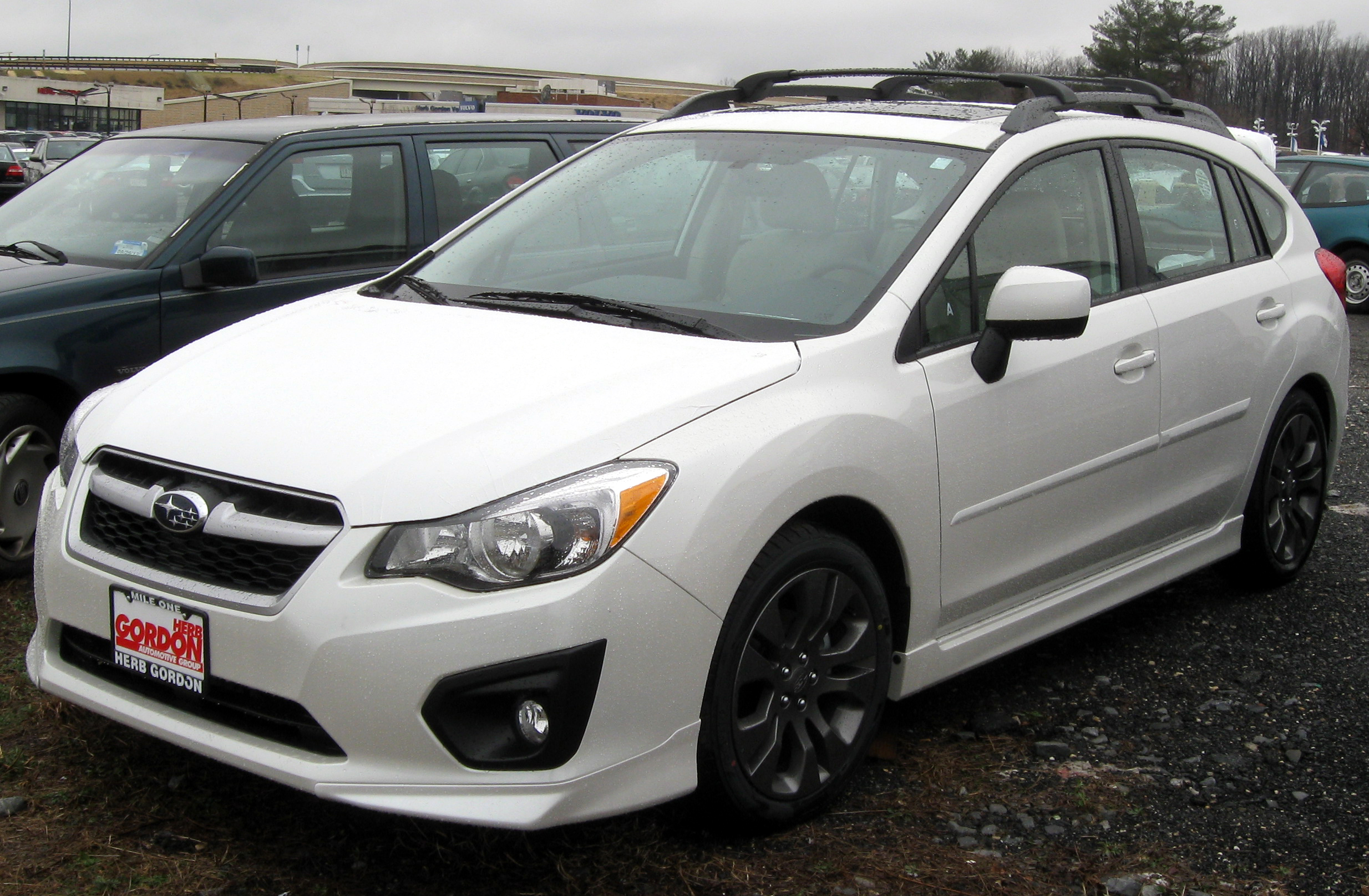 2012 subaru impreza - information and photos - zombiedrive