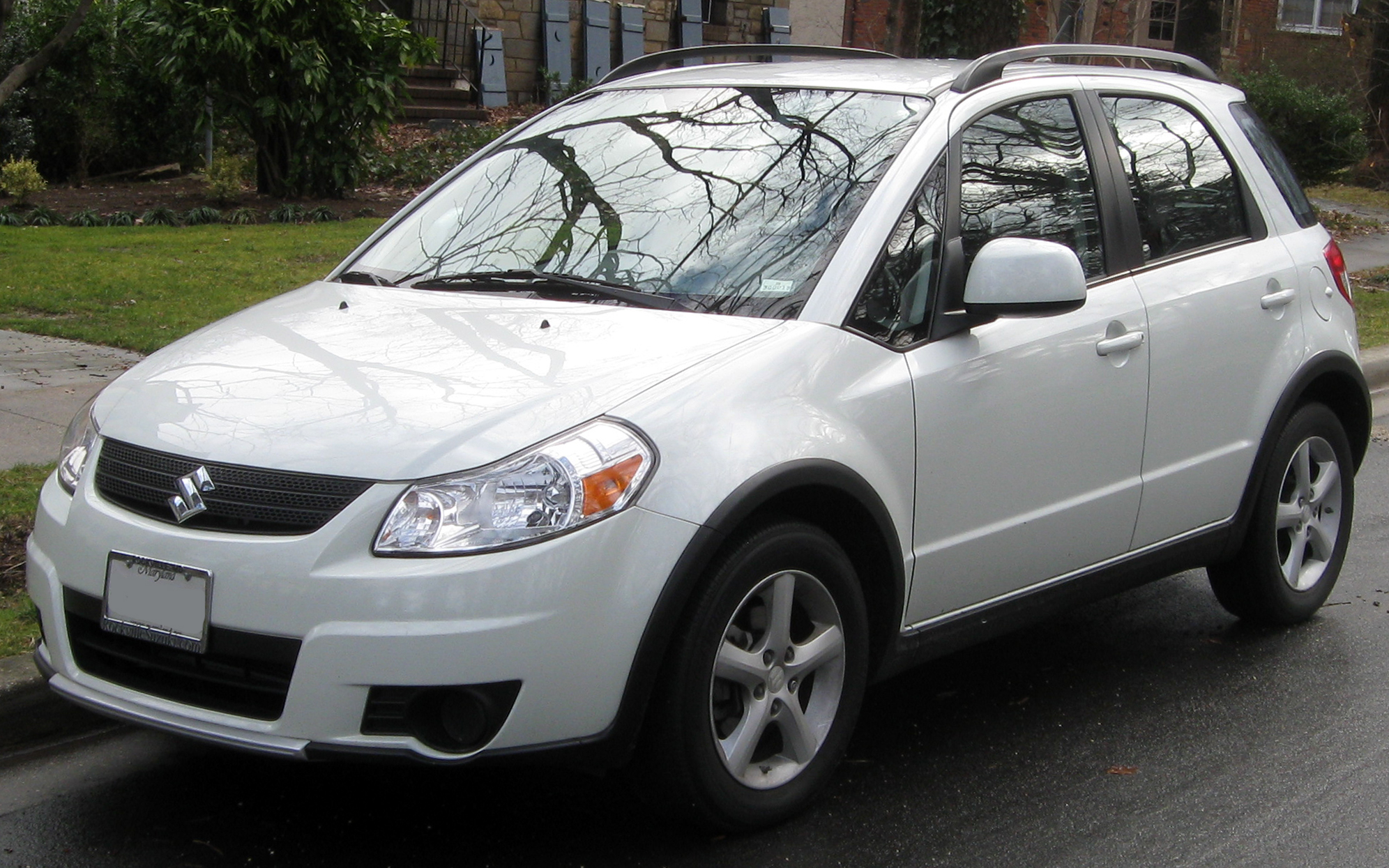 2012 suzuki sx4 information and photos zombiedrive. Black Bedroom Furniture Sets. Home Design Ideas