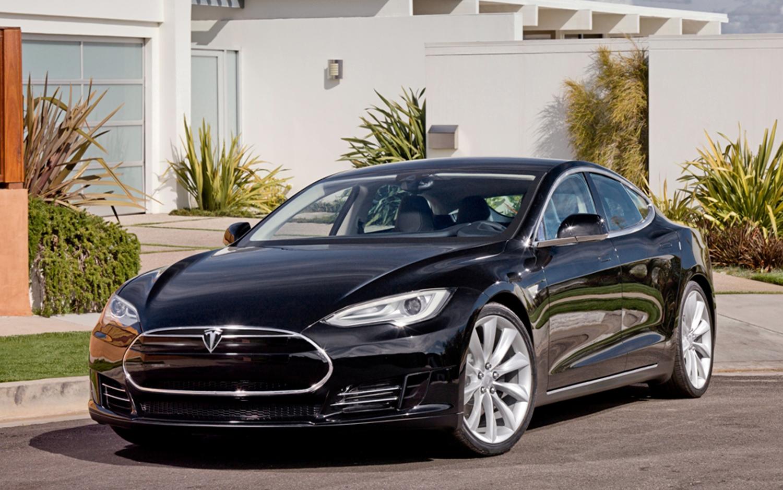 Tesla Model S - 2012 tesla model s