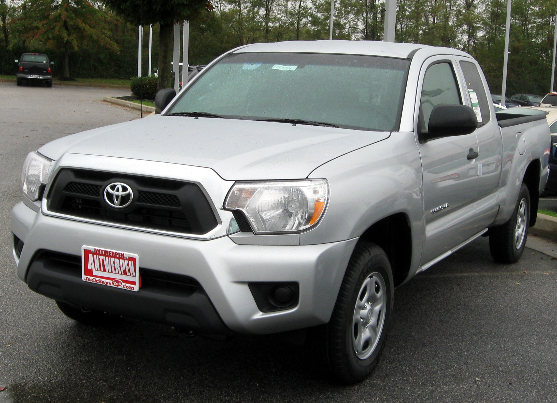 2012 toyota tacoma information and photos zombiedrive. Black Bedroom Furniture Sets. Home Design Ideas