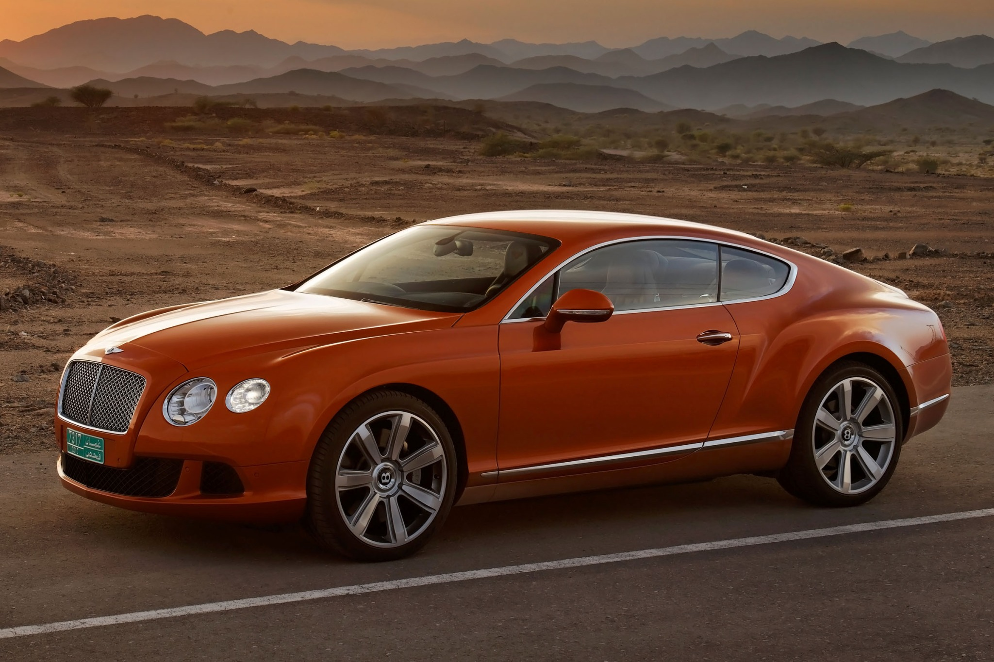 2012 Bentley Continental  interior #1