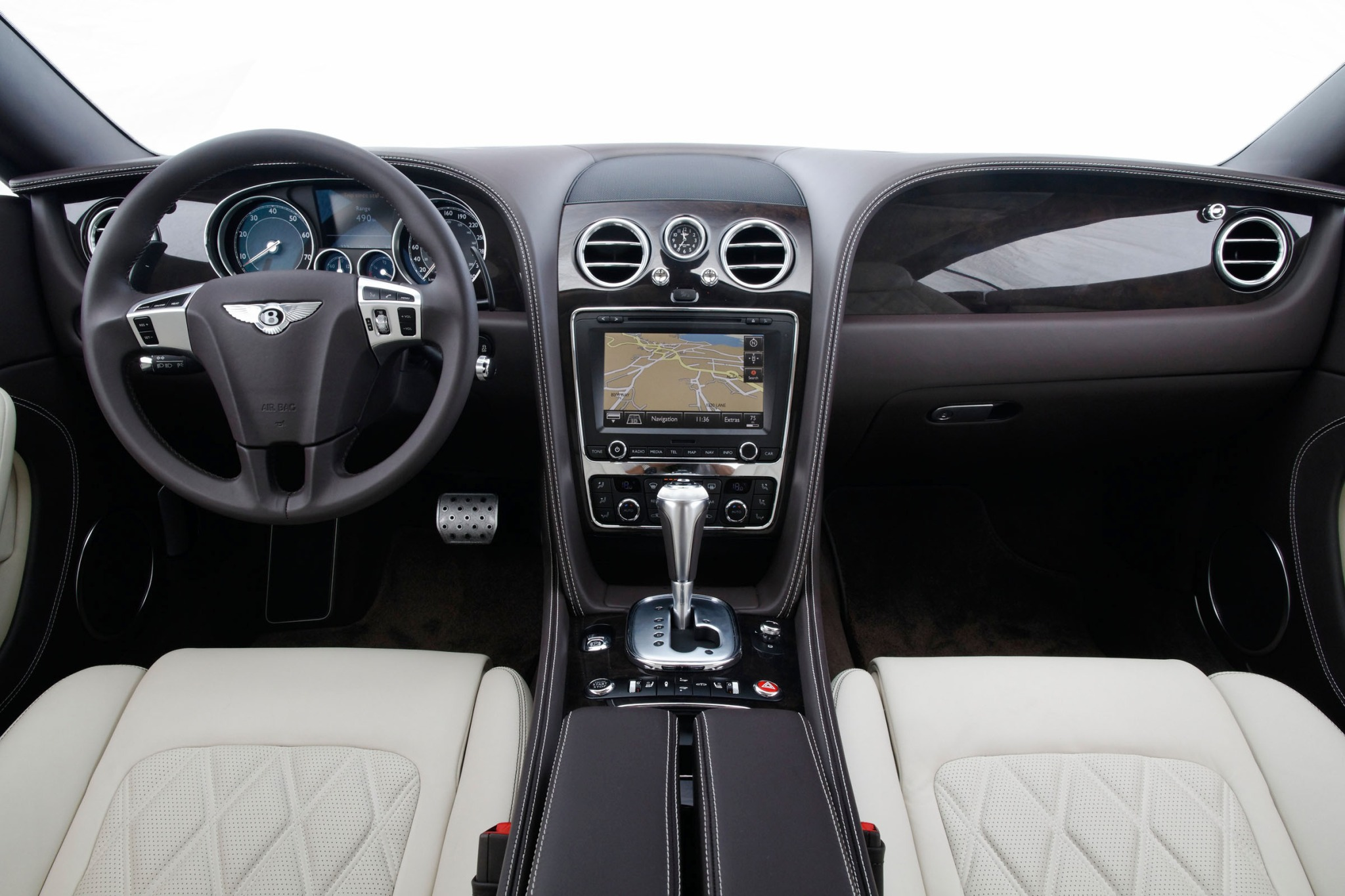 2012 Bentley Continental  interior #9