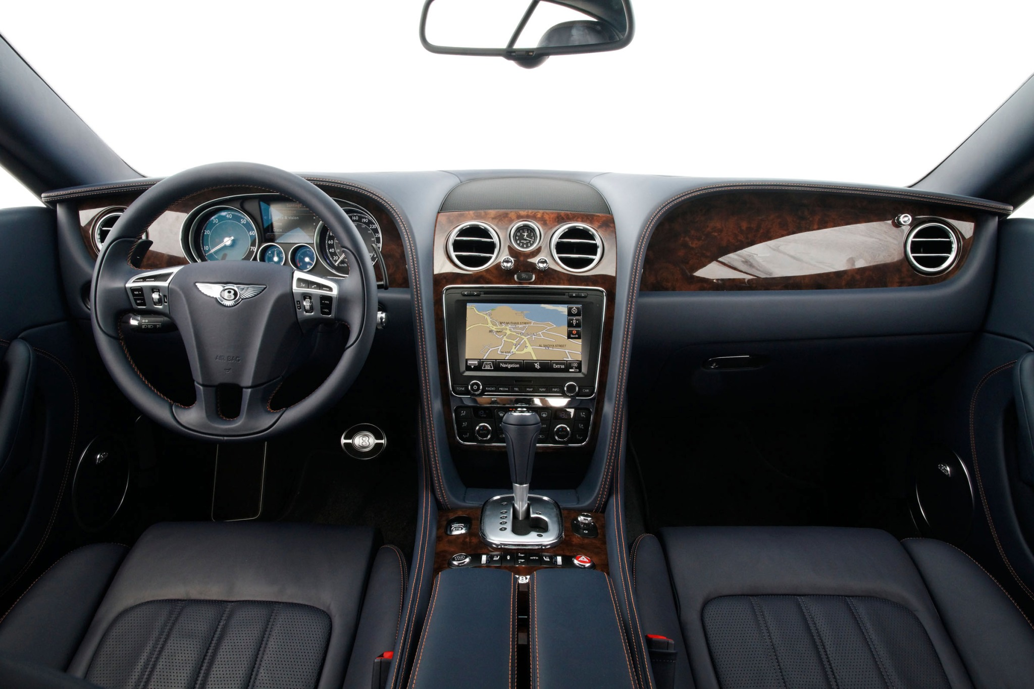 2012 Bentley Continental  interior #8