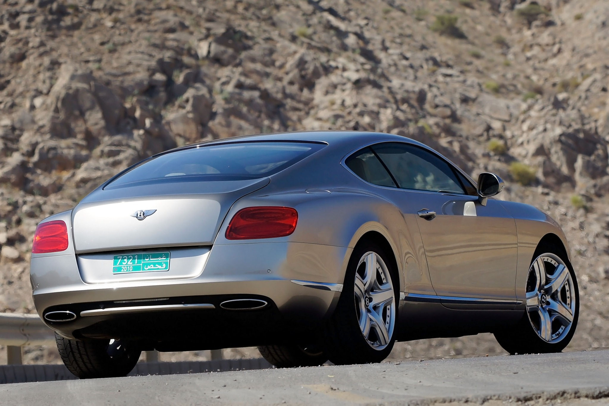 2012 Bentley Continental  interior #4
