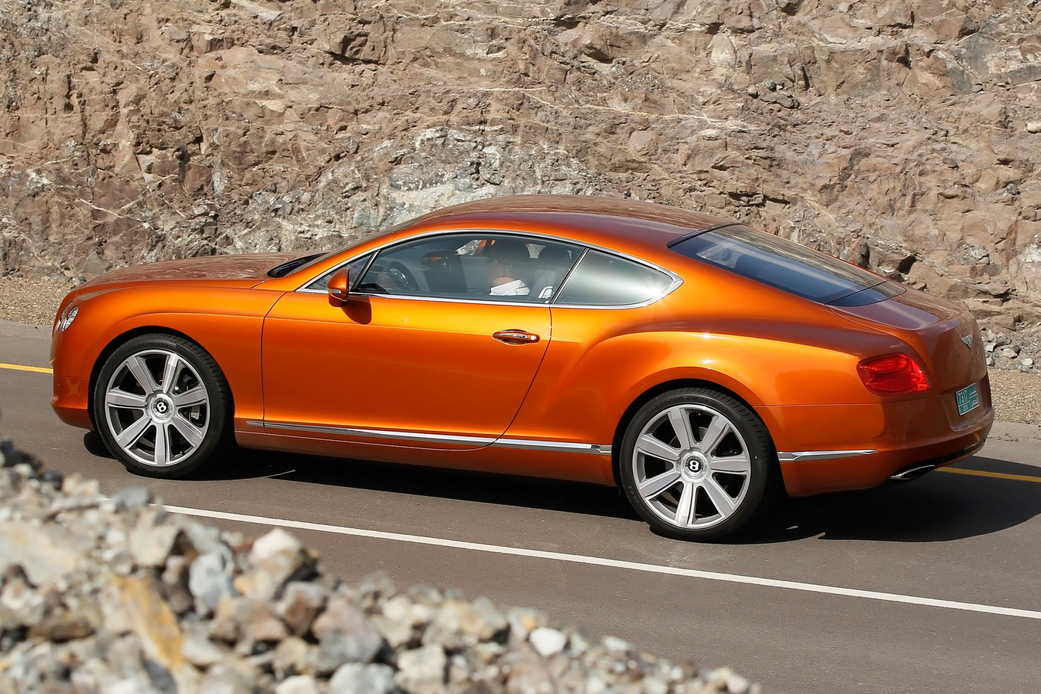 2012 Bentley Continental  interior #5