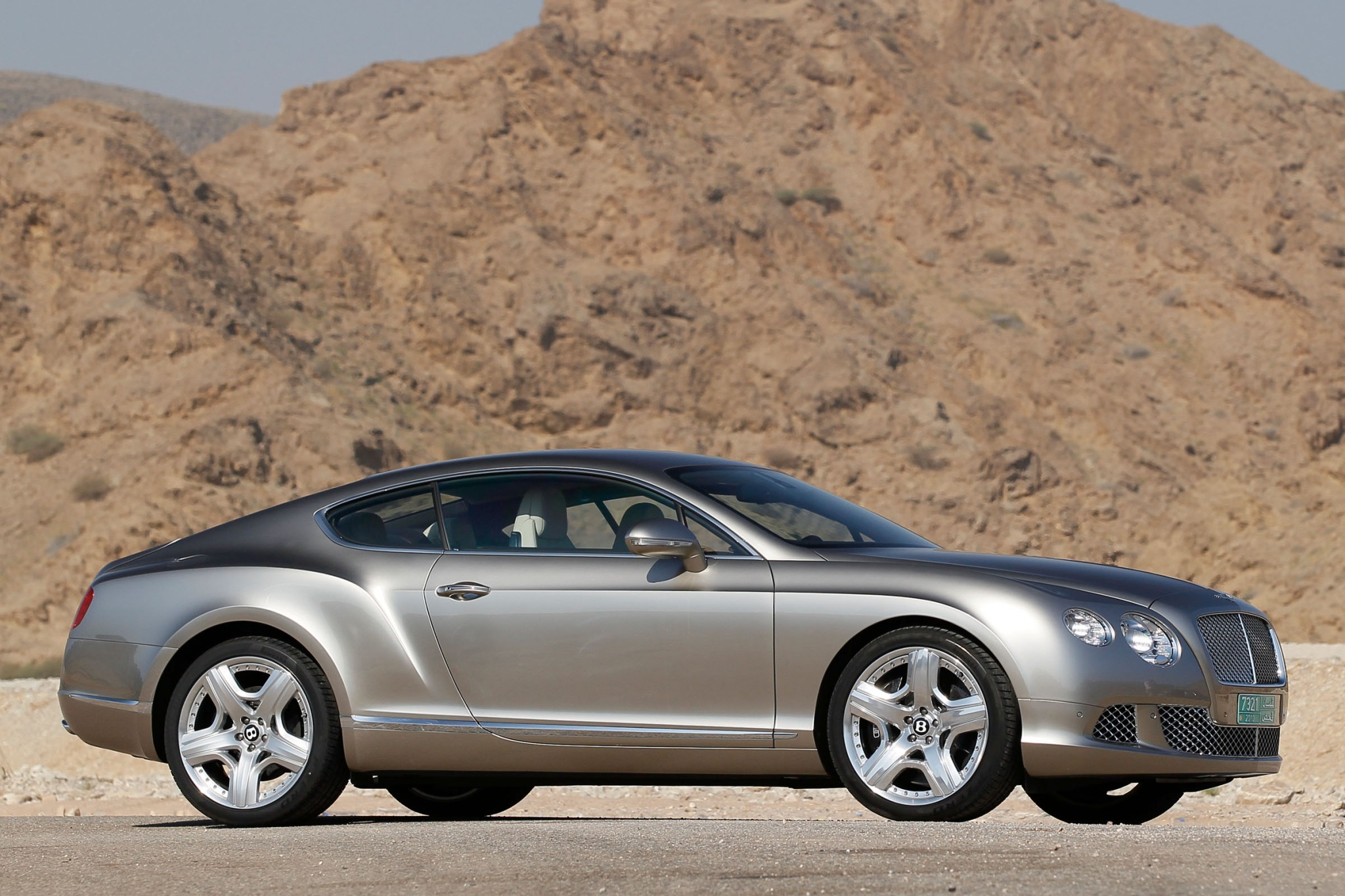 2012 Bentley Continental  interior #3