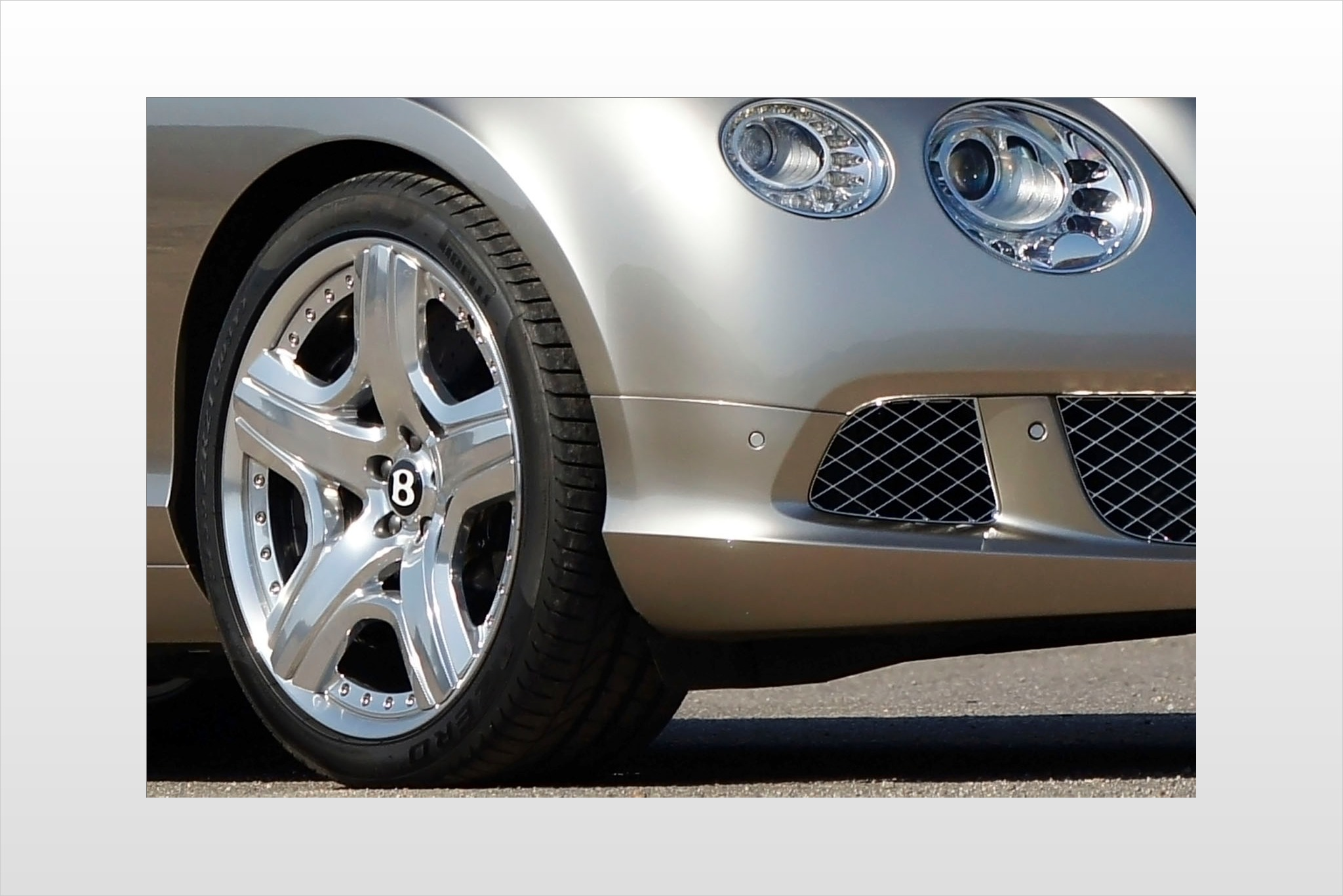 2012 Bentley Continental  interior #7