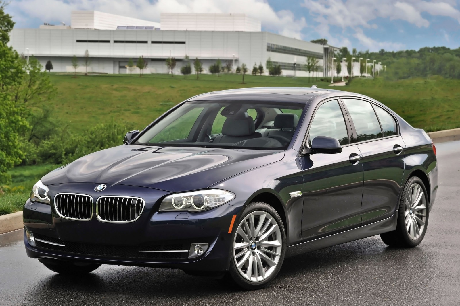 2012 BMW 5 Series  Information and photos  ZombieDrive