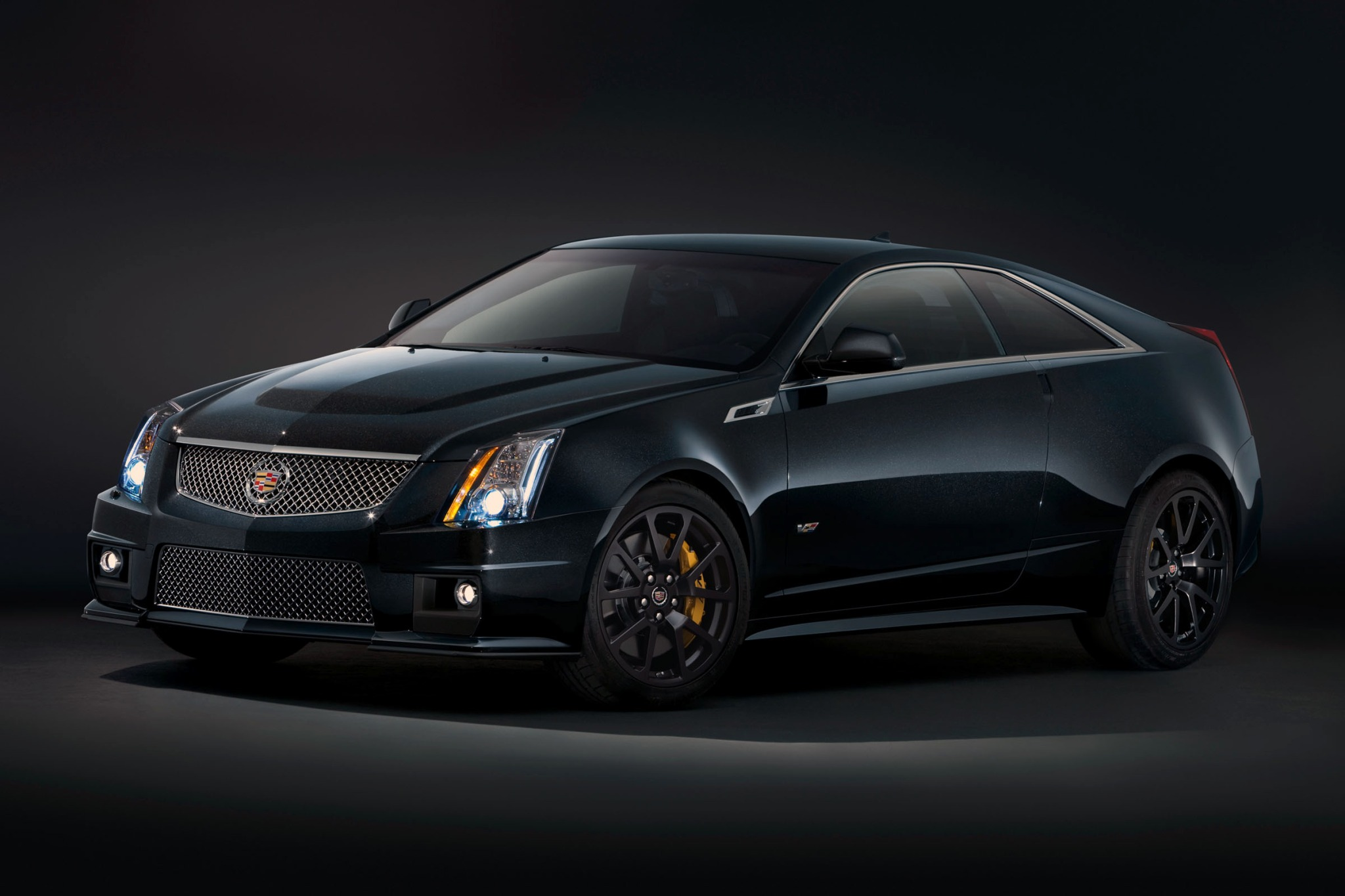 2012 Cadillac CTS-V Coupe exterior #2