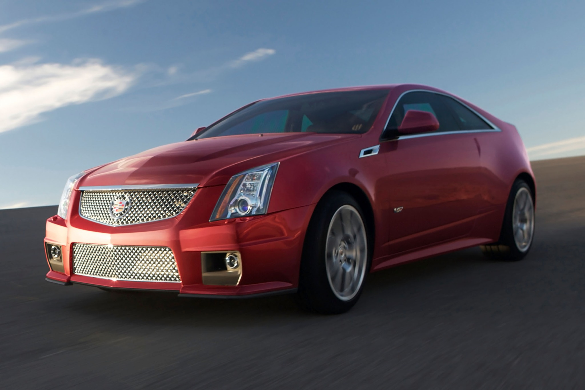 2012 Cadillac CTS-V Coupe exterior #1