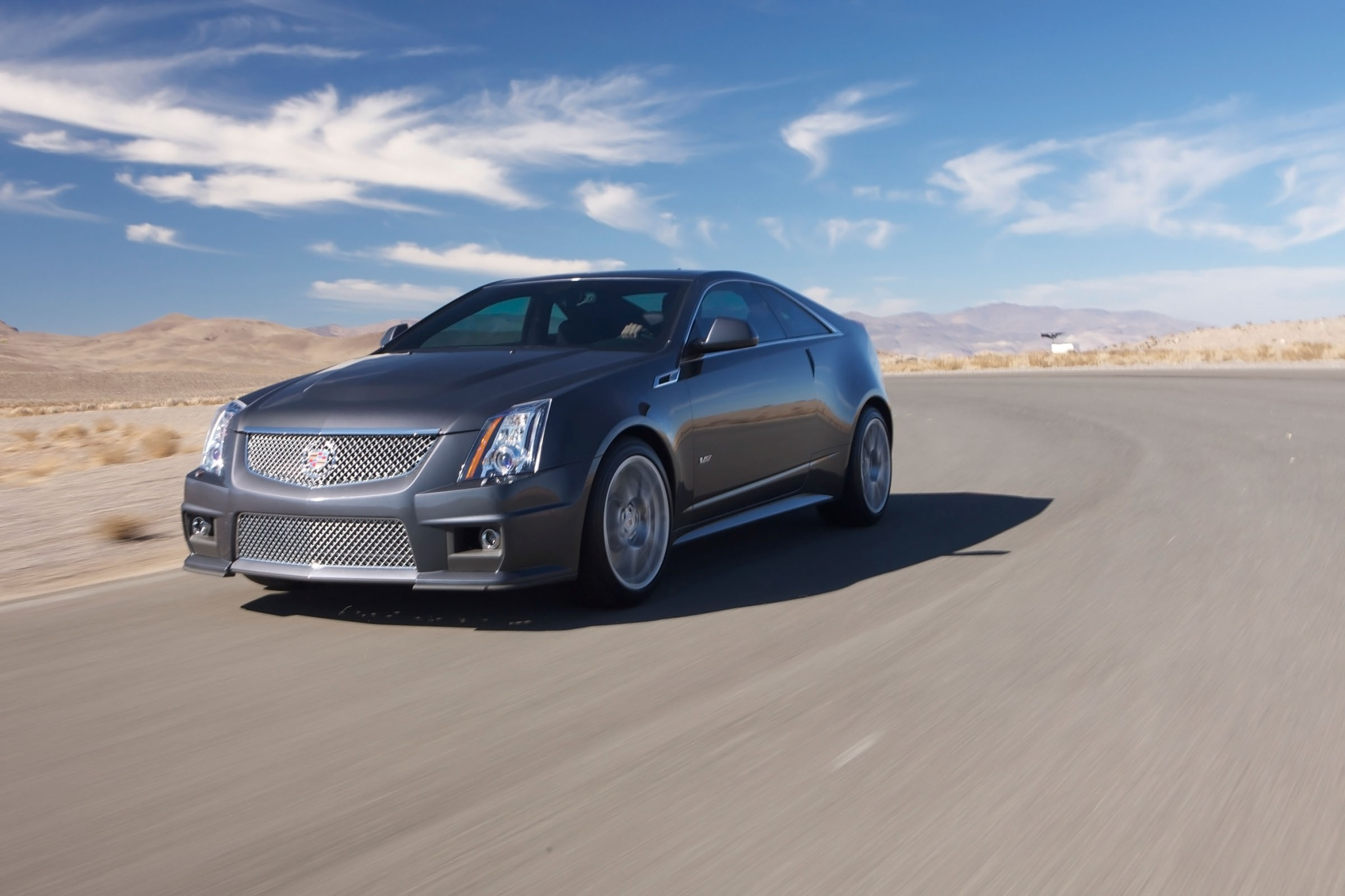 2012 Cadillac CTS-V Coupe exterior #3