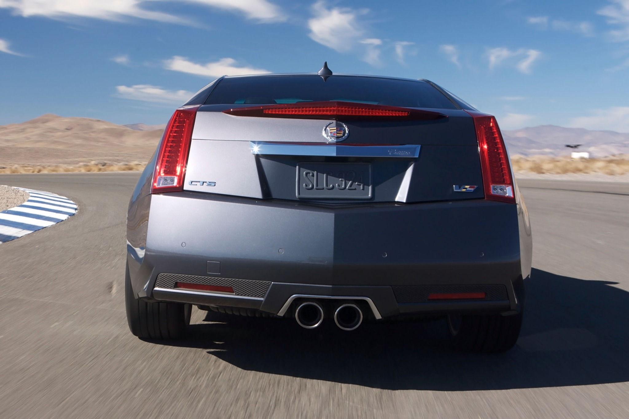2012 Cadillac CTS-V Coupe exterior #7