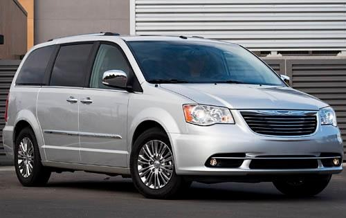 2012 Chrysler Town and Co exterior #2